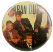 Duran Duran - 'Group Ties' Button Badge